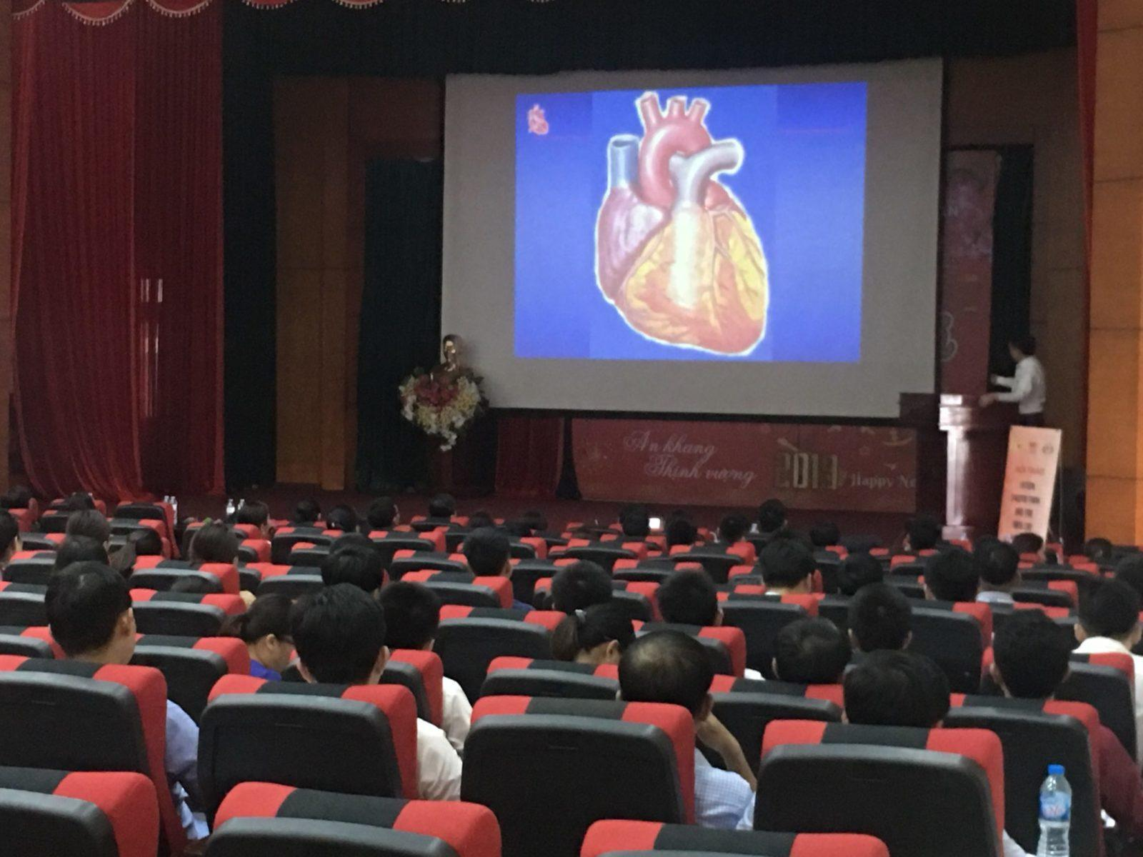 Đào tạo liên tục chẩn đoán và điều trị sớm nhồi máu cơ tim